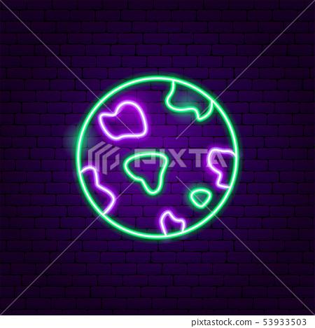 Planet Neon Label 53933503