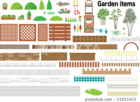 Garden items 53935425