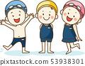 孩子們喜歡游泳池 53938301