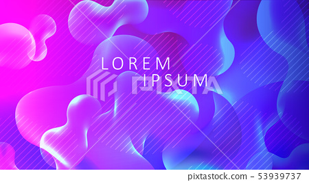 Blue With Purple Background With Abstract Stock