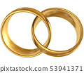 Connected golden rings 53941371