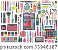 Make-up Cosmetic Tools Kit Set 53946187