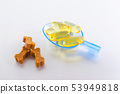 omega oil capsules for animals with treats like bones 53949818