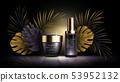 Summer skin care cosmetics, tropic vector 53952132