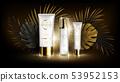 Summer skin care cosmetics, tropic vector 53952153