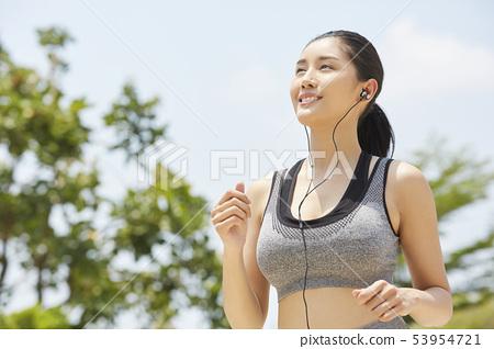 여성 스포츠 건강 53954721