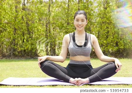 女性運動健康 53954733