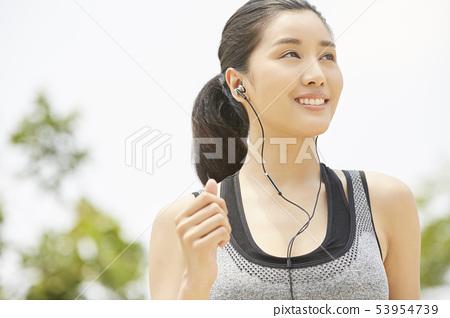 여성 스포츠 건강 53954739
