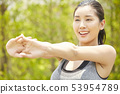 女性運動健康 53954789