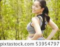 女性運動健康 53954797