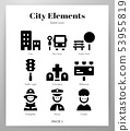 City elements Solid pack 53955819