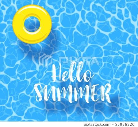 Water pool summer 53956520