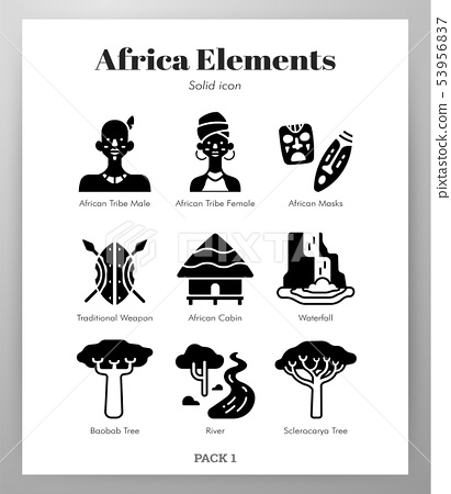 Africa elements Solid pack 53956837