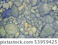 The bottom of the river Shimanto River 53959425