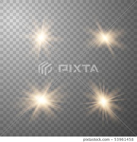 Glow light effect. 53961458