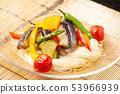 Soy noodles of summer vegetables fried 53966939