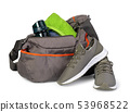 Sports bag with sports equipment 53968522