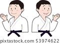 Male judoist 53974622