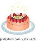 생일 케이크 (초콜릿 캔들) 53979476
