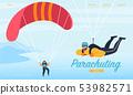 Parachuting, Skydiving Sports Activity Sportsmen 53982571