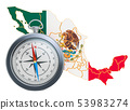 Travel or tourism in Mexico concept. 3D rendering 53983274