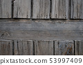 Old grey wooden texture. 53997409