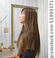 头发化妆 53999371