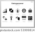 Entrepreneur icons Solid pack 53999814