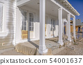 Exterior of new home with porch in Daybreak Utah 54001637