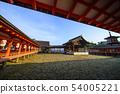 히로시마 미야지마의 풍경 54005221