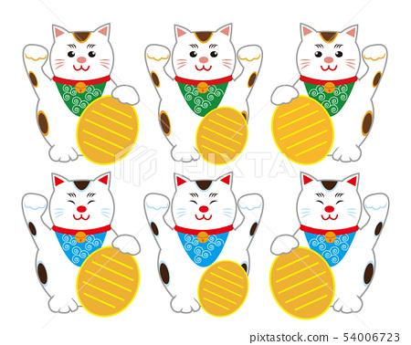 Cat beckoning cat 54006723
