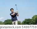 Golf Men Golf Course Golfer Image 54007759
