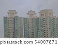 the june 2014 HK residential apartment building 54007871