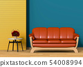 interior modern living room with sofa 54008994