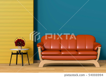 interior modern living room with sofa 54008994