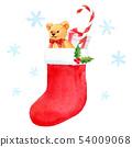 ของขวัญคริสต์มาสพร้อมถุงเท้า (ทำมือ) 54009068