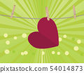 Heart on Rope 54014873