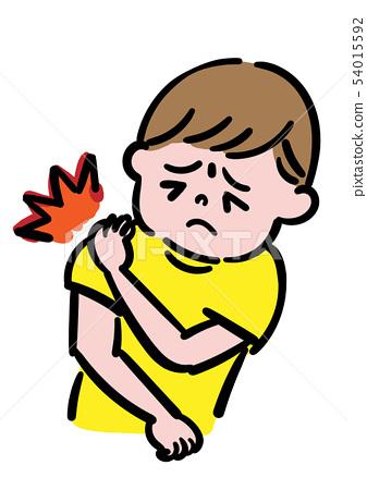 My shoulder hurts. 54015592