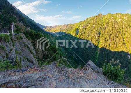 fagaras mountain ridge in the morning 54019512
