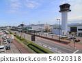 다카마쓰 공항 터미널과 관제탑 54020318