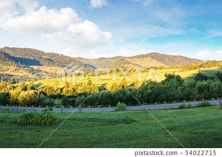 carpathian countryside in the morning 54022715