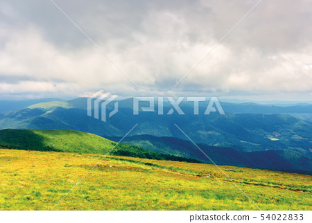 mountain landscape on a cloudy day 54022833