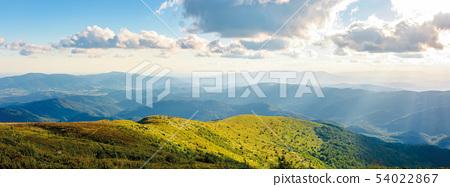 beautiful panorama of mountainous landscape. 54022867