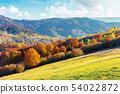 sunny autumn afternoon mountain scenery 54022872
