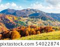 sunny autumn afternoon mountain scenery 54022874