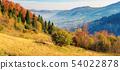 sunny autumn panorama of  countryside 54022878