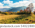 sunny autumn morning in countryside 54022880