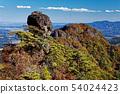 Myoyoshiyama秋葉山脈和滑翔傘 54024423