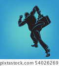 businessman running 54026269
