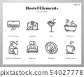 Hostel Elements Line pack 54027778
